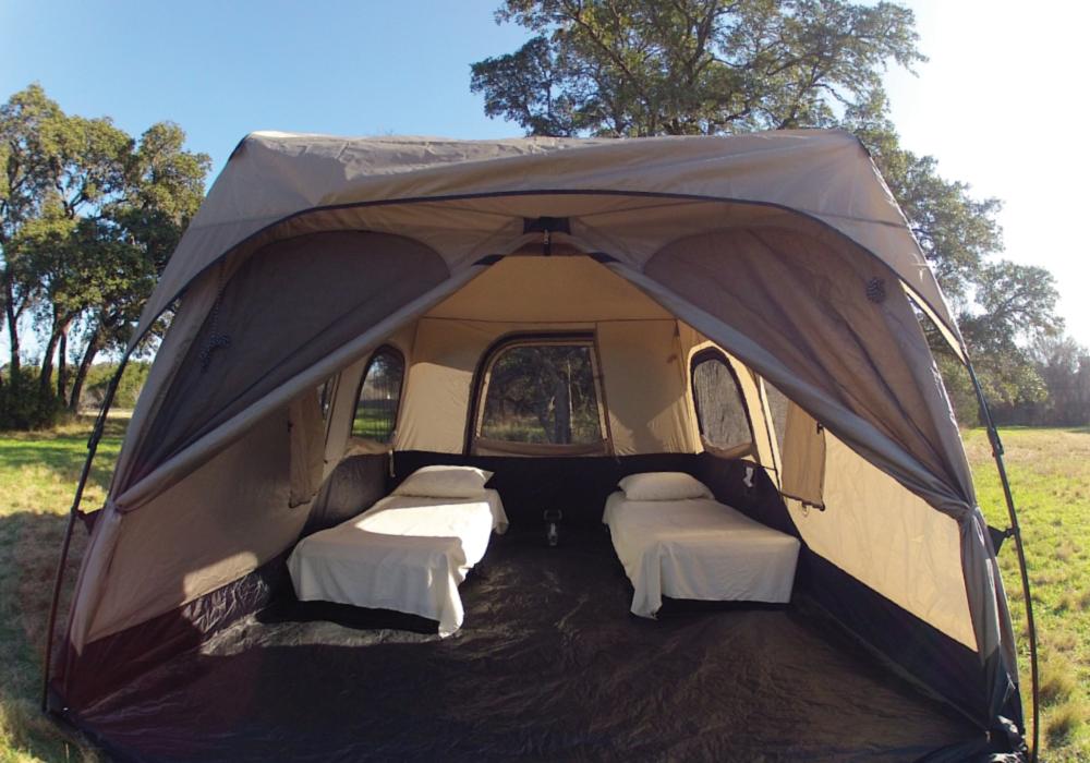 TWO COT TENT RENTAL & TWO COT TENT RENTAL u2013 Habitat Camping Rentals u2013 Austin Texas