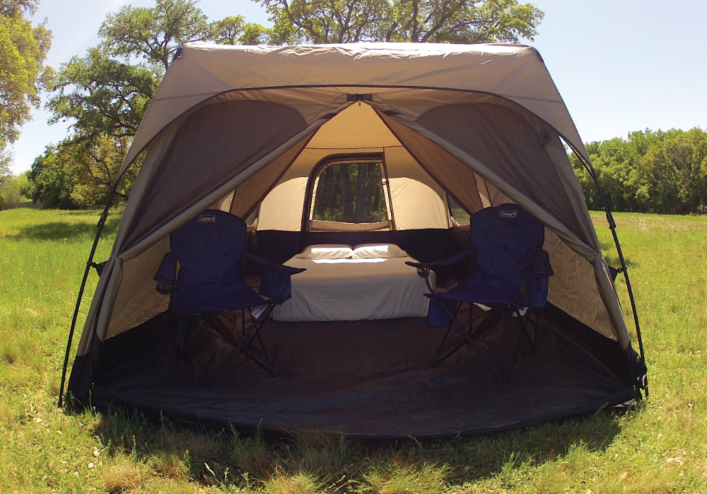 QUEEN BED TENT RENTAL & QUEEN BED TENT RENTAL u2013 Habitat Camping Rentals u2013 Austin Texas